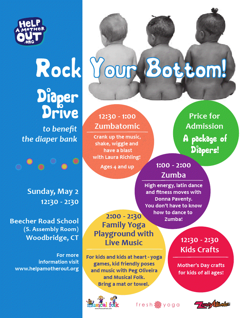 National Month-Long Diaper Drive With Help a Mother Out
