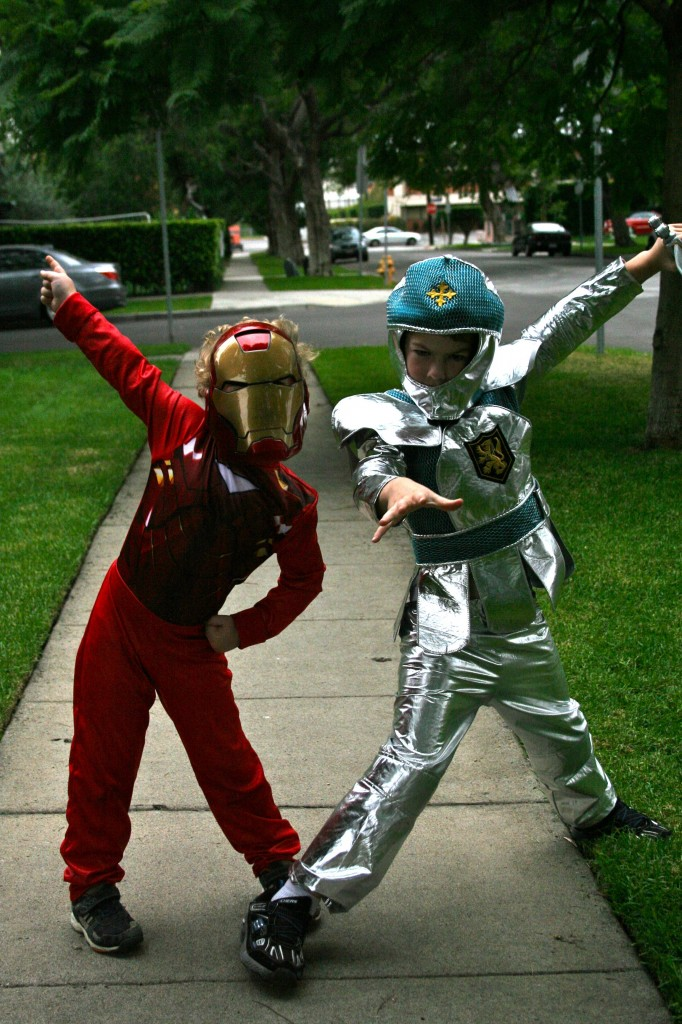 Ironman and Knight Halloween Costumes