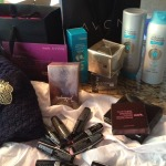 Today's surprise package that feels like an early birthday present @romyraves @avonprgals