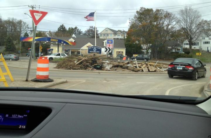 Wordless Wednesday:  Hurricane Sandy Photos