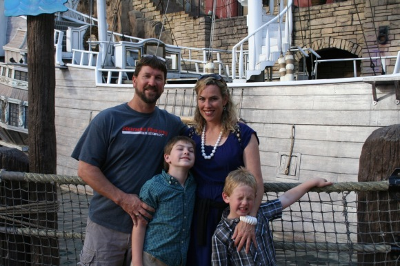 Treasure Island, family vacation, Las Vegas