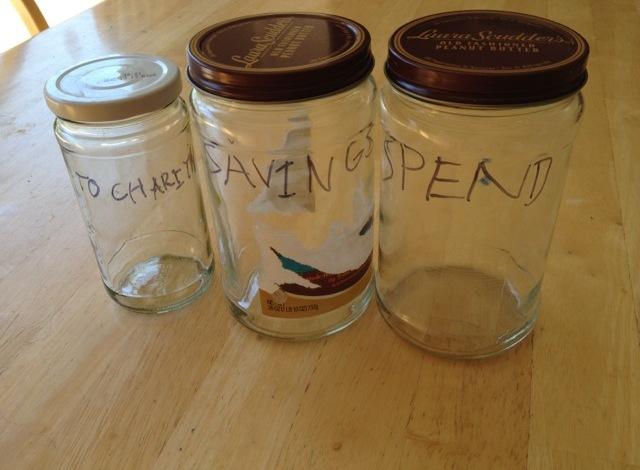 Allowance Jars