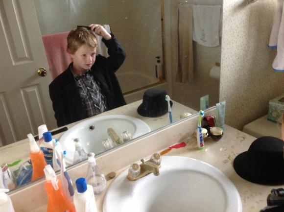 brady combs hair