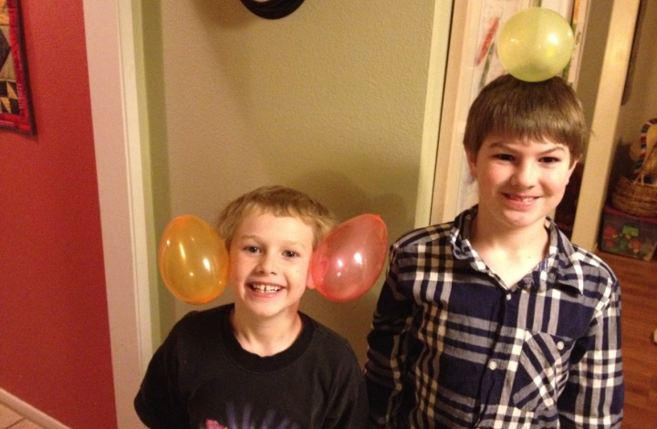 Wordless Wednesday: Balloon Heads