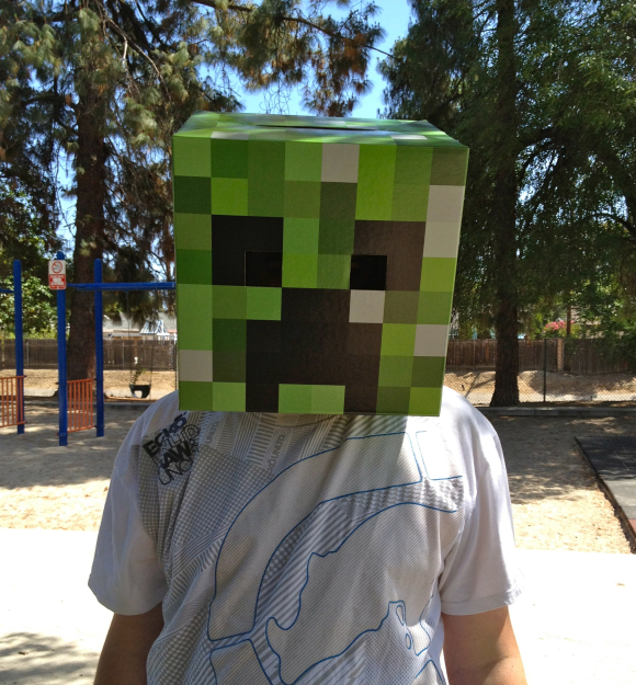 minecraft head box 2