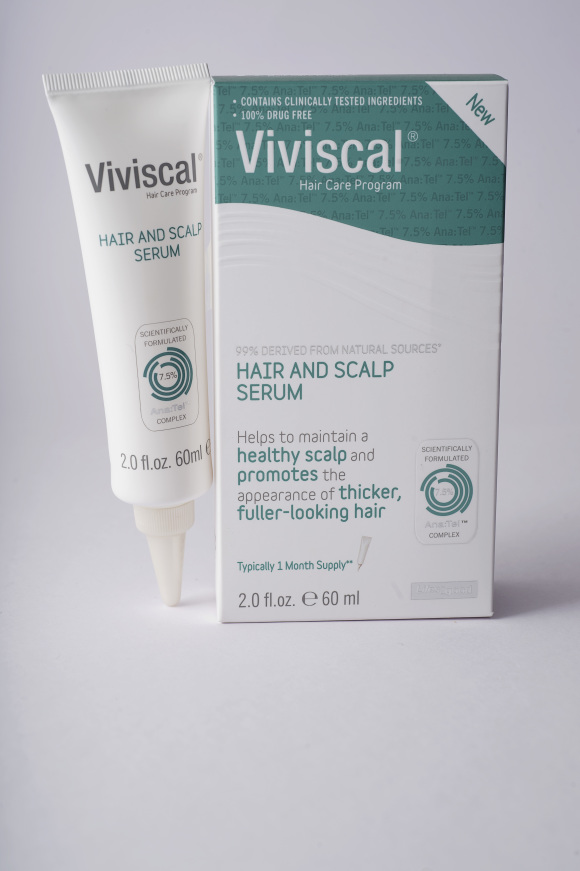 Viviscal Hair and Scalp Serum and Tube