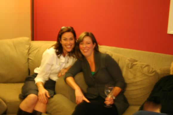blurry kim and lisa shot