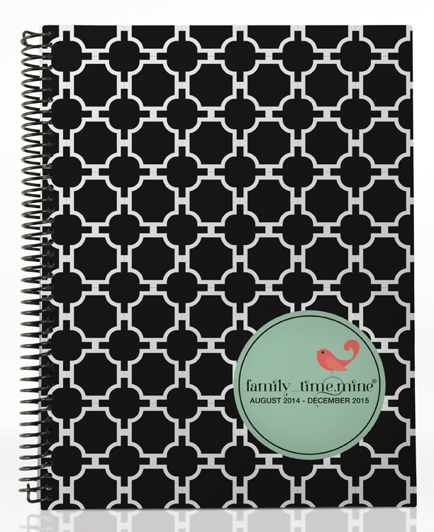 spiral bound family time by dotmine day planners review house of