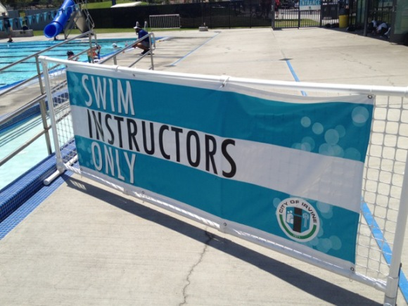 swim instructors only