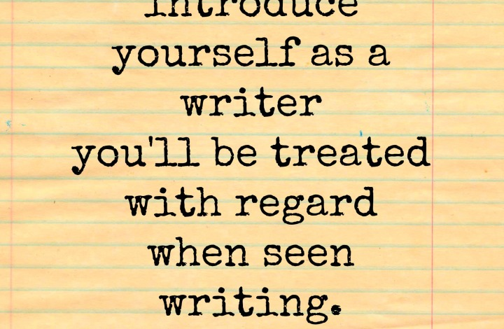 writer of regard