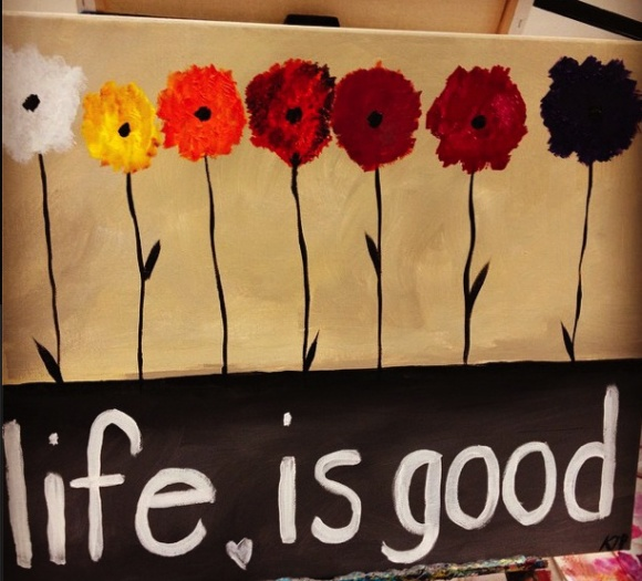 life is good painting