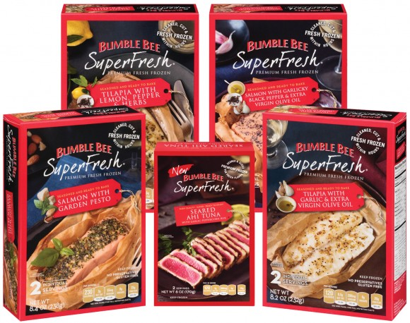 Bumble Bee SuperFresh frozen seafood