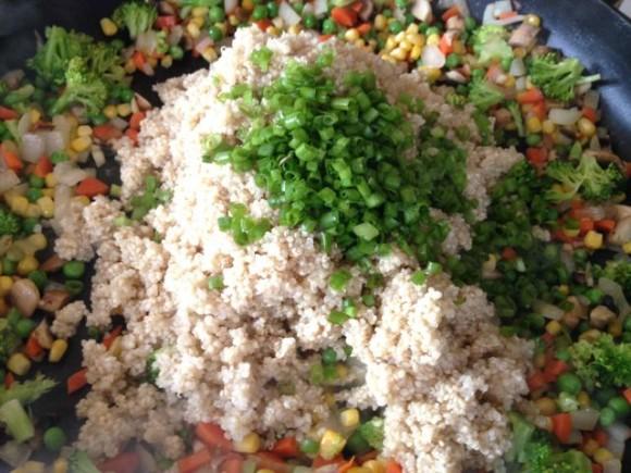 cold quinoa