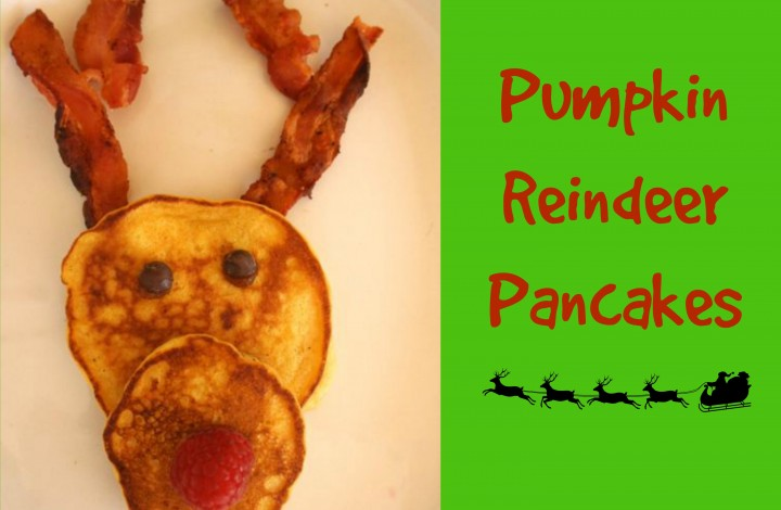 Tummy-Friendly Reindeer Pancakes With a2 Milk®