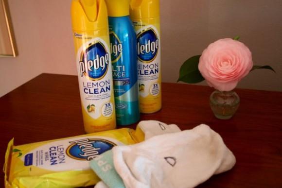 dusting with socks pledge