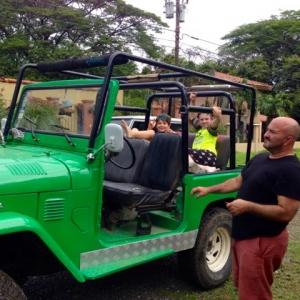 Costa Rica jeep