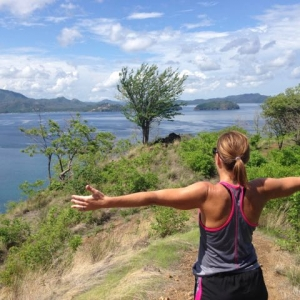 Costa Rica woman at summit
