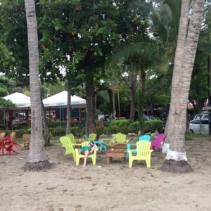 Costa Rica Playa Tamarindo chairs