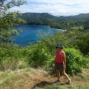 Costa Rica hiker