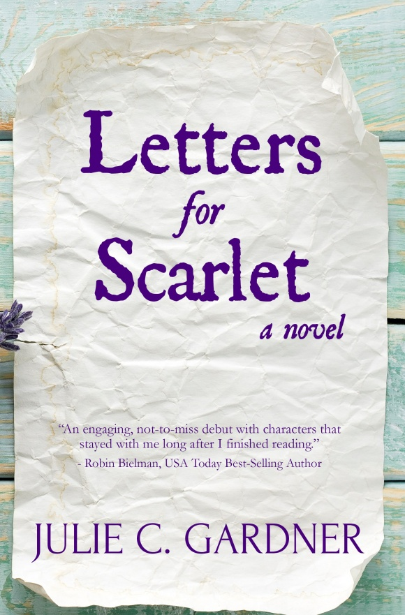 letter for scarlet cover