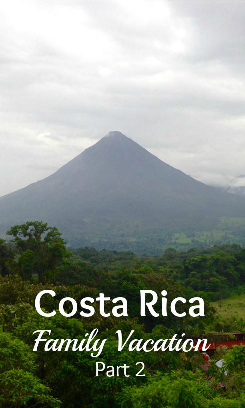 costa rica vacation volcano arenal pin this