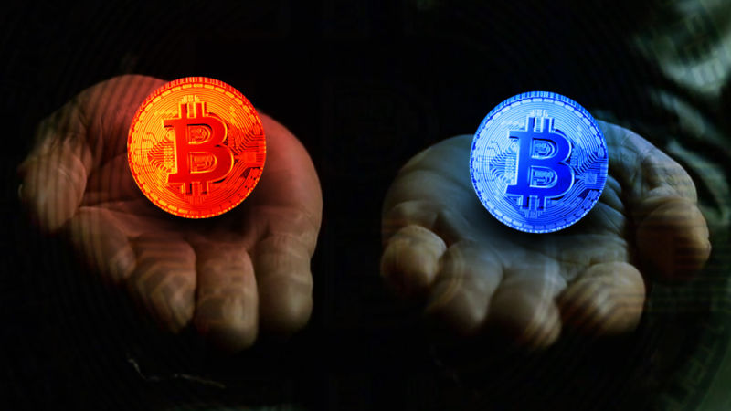 red pill blue bill bitcoin