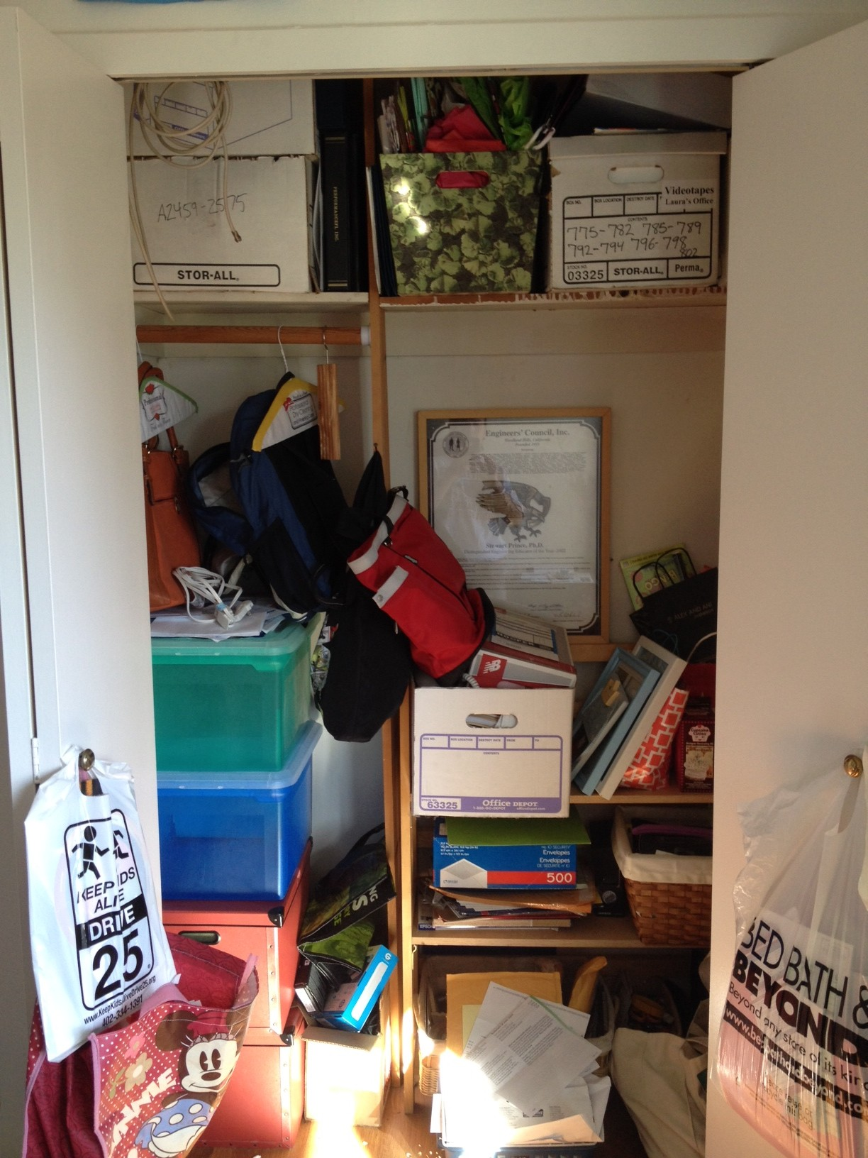 Oops, I Did It Again - My Secret Too-Busy Closet - House